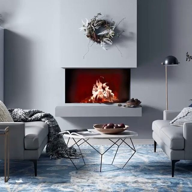 Design Your Living Room App Extraordinary You Know What Would Make This A Perfect Evening A Fireplaceon Inspiration Design