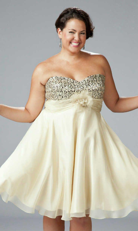 b1e0e13228e9 Knee Length Plus Size Homecoming Dresses | Saddha