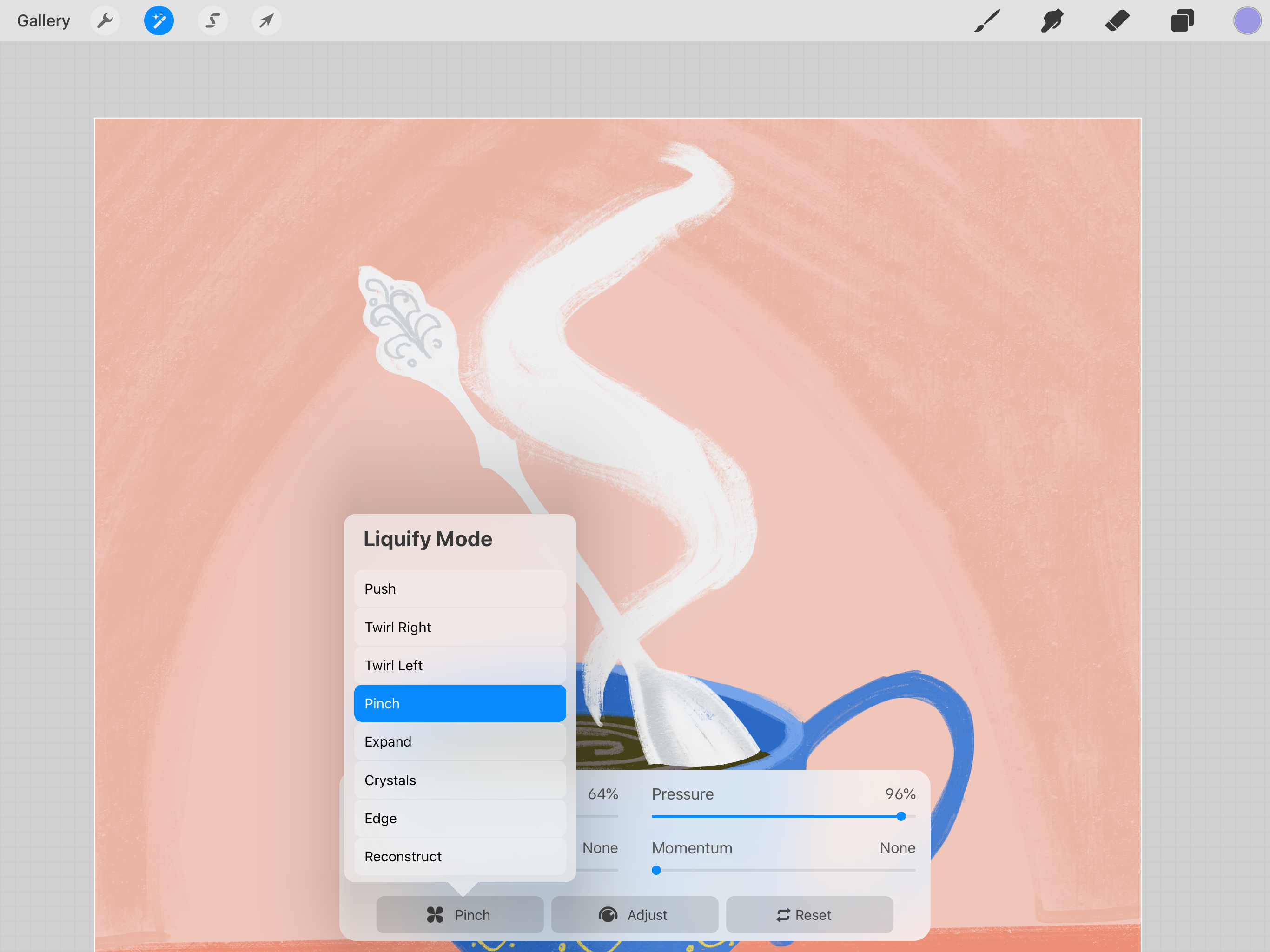 How To Animate In Procreate Create A Cute Gif Of A Tea Cup Animation Art Apps Cute Gif
