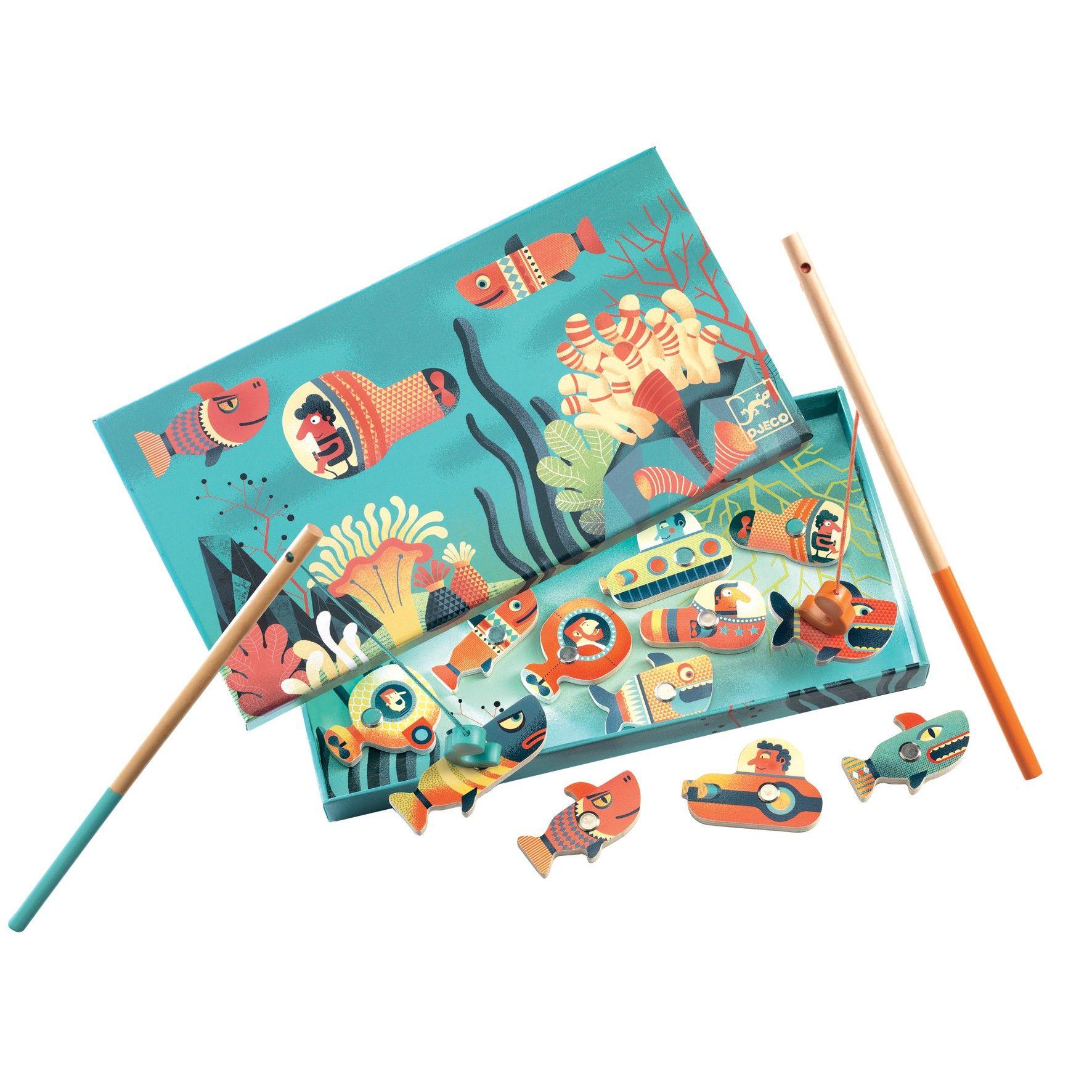 Enchanted Fishing Djeco Magnetic Fishing Games