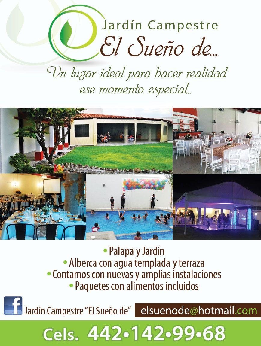 Pin De De Tin Marin En Jardines Para Eventos En Querétaro