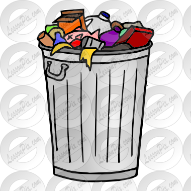 Garbage Picture For Classroom Therapy Use Great Garbage Clipart Homeschool Organization Clip Art Classroom