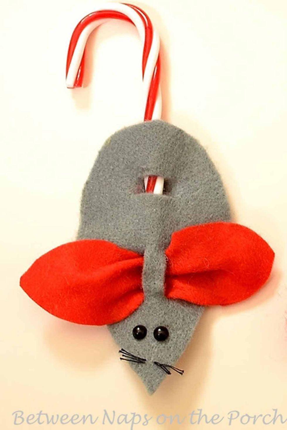 25 Candy Cane Crafts die wunderschöne Weihnachtsschmuck machen 25 Candy Cane Crafts die wunderschöne Weihnachtsschmuck machen
