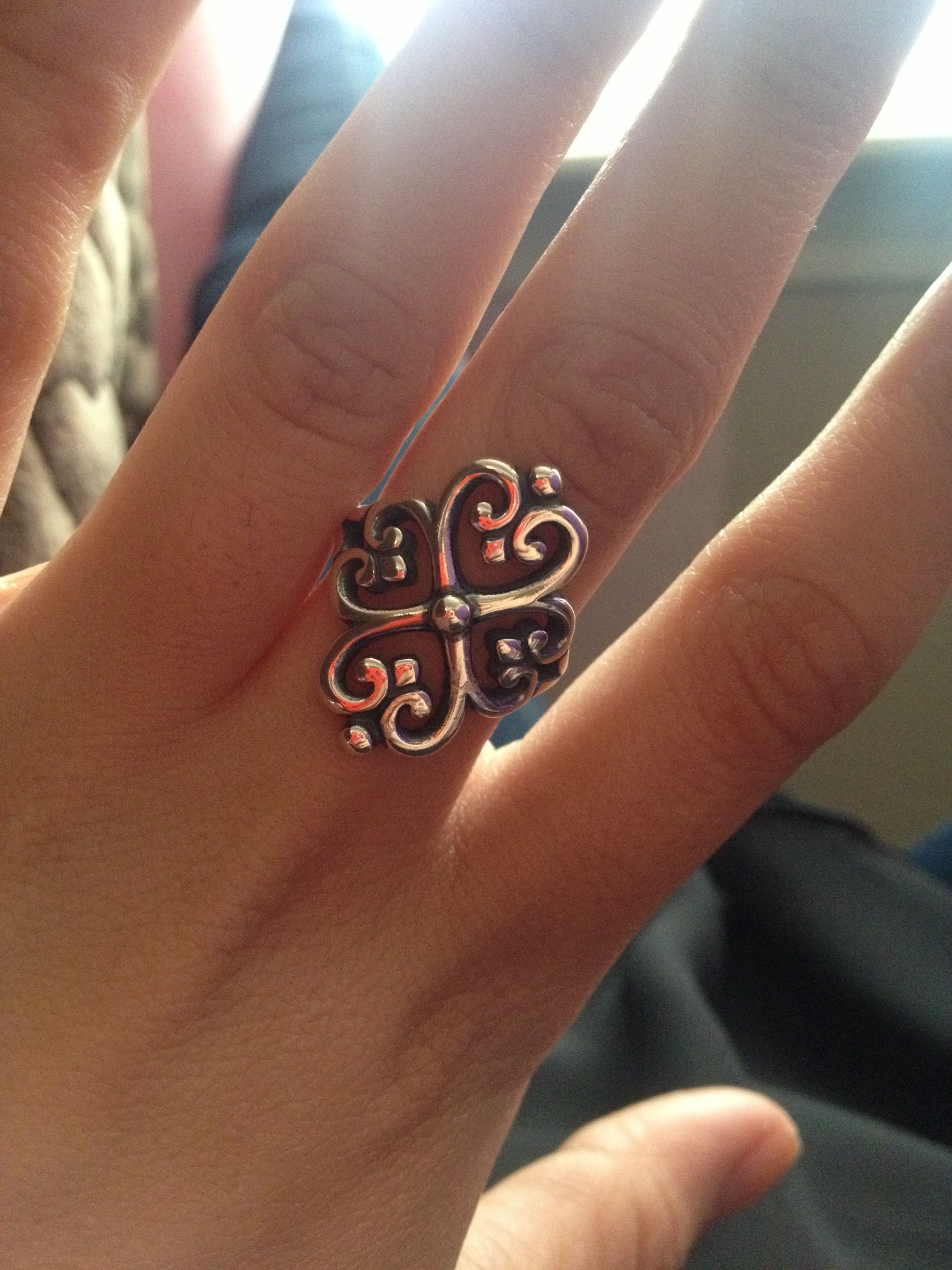 James Avery ring <3 glad my love bought me this ring ☺