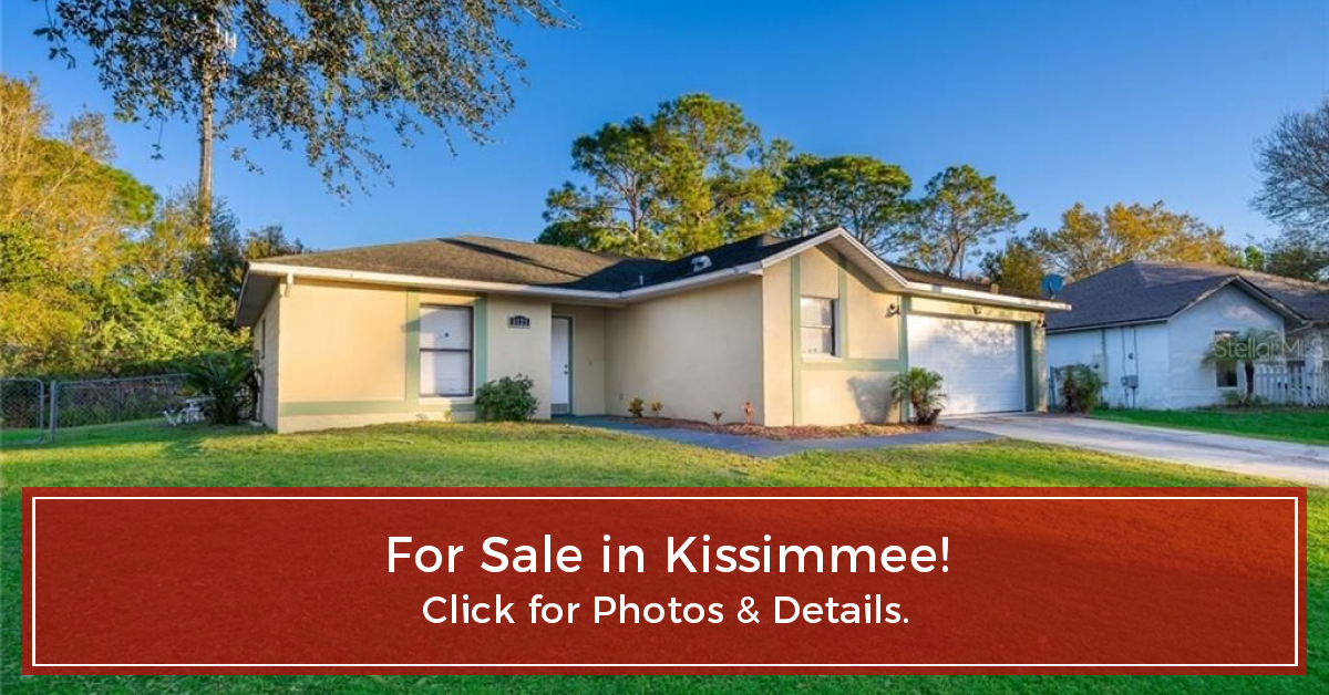 Another Home Under Contract in Kissimmee! in 2020 Estate