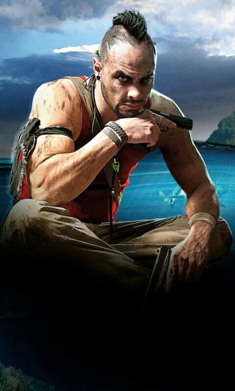 Far Cry 3 Vaas Gaming Wallpapers Far Cry 3 Game Art