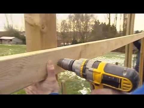 Construction D Une Pergola Video Bricolage Gamma Belgique