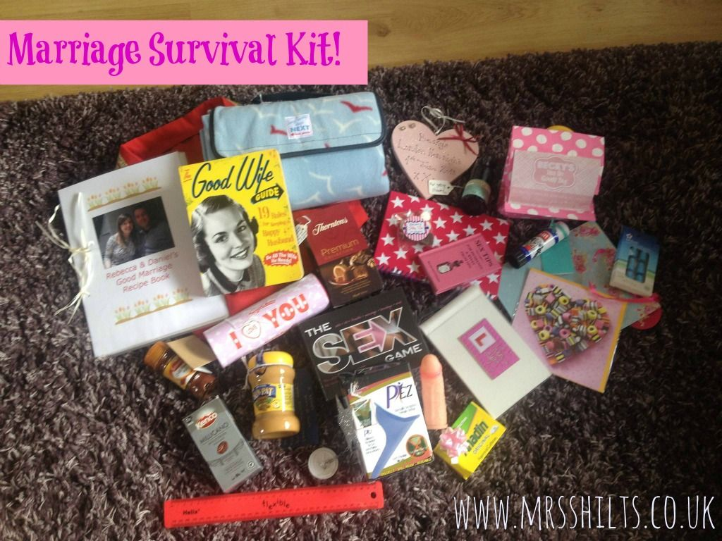 Pics photos funny college survival kit ideas - Last Year I Wrote A Post Asking For Ideas For A Marriage Survival Kit For My Friends Wedding The Kit Was A Great Success And As Soon As My Bestie Told Me