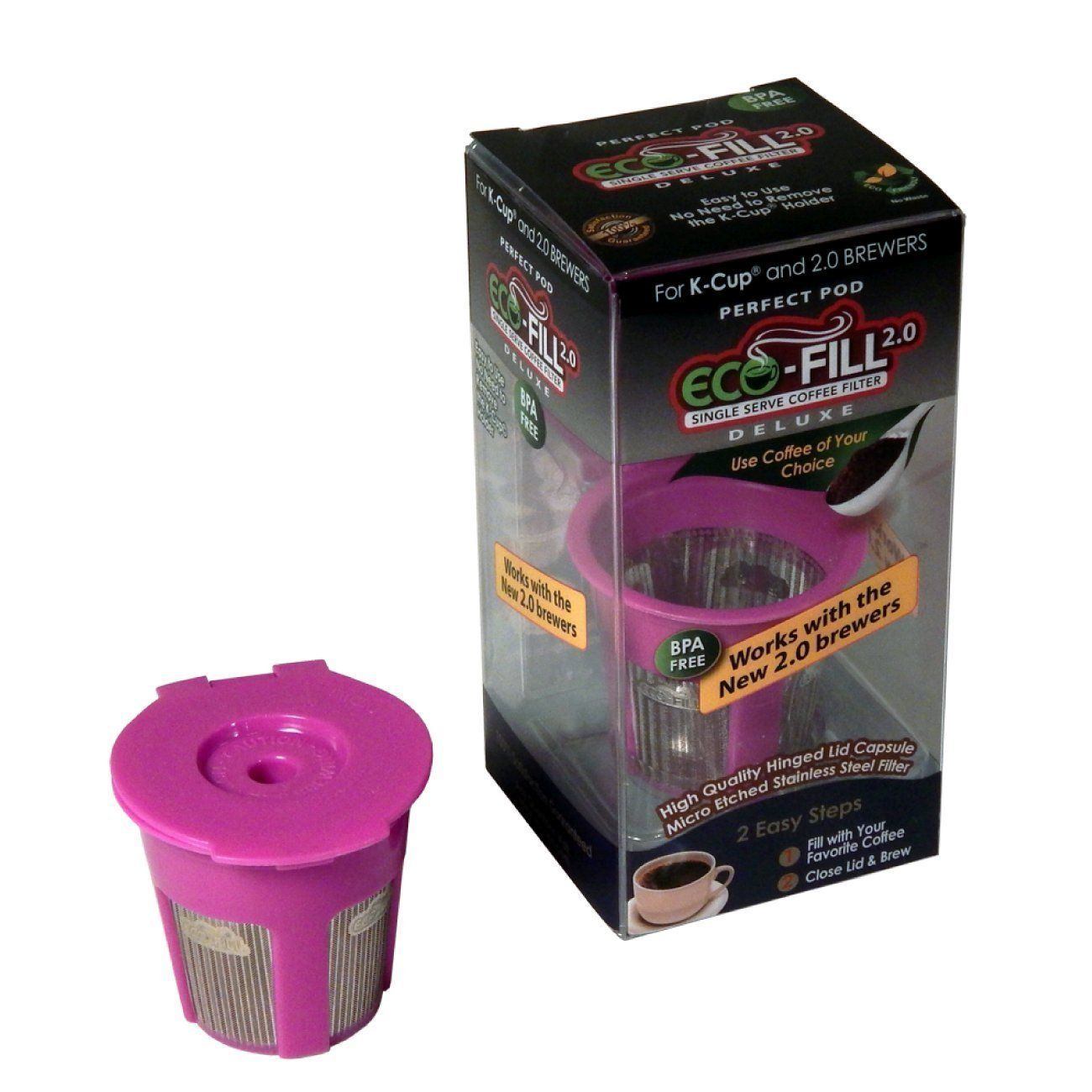 EcoFill 2.0 Deluxe for Keurig 2.0 K200 * Find out more