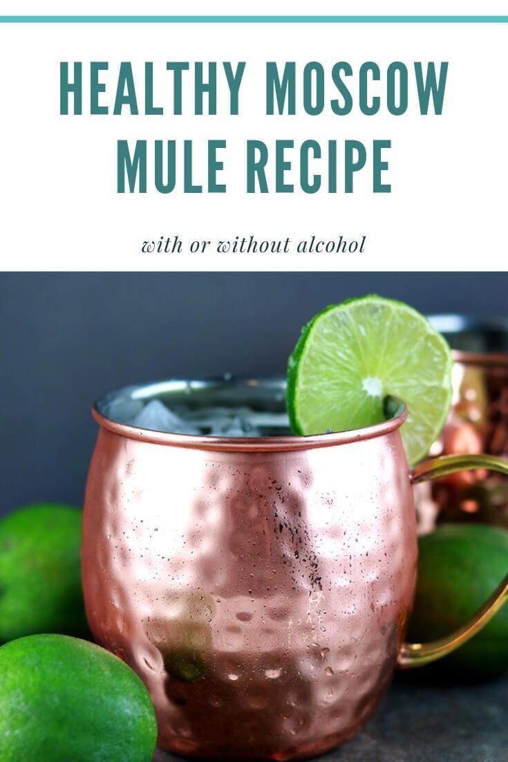 Skinny Moscow Mule Recipe In 2020 Moscow Mule Recipe Mule