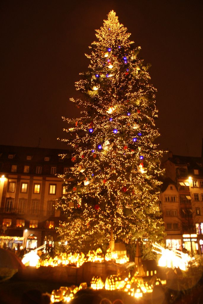 Christmas In Strasbourg France Frankrike