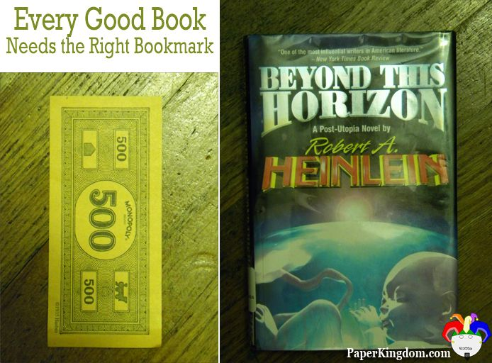 Beyond This Horizon By Robert A Heinlein Marked With 500 Of