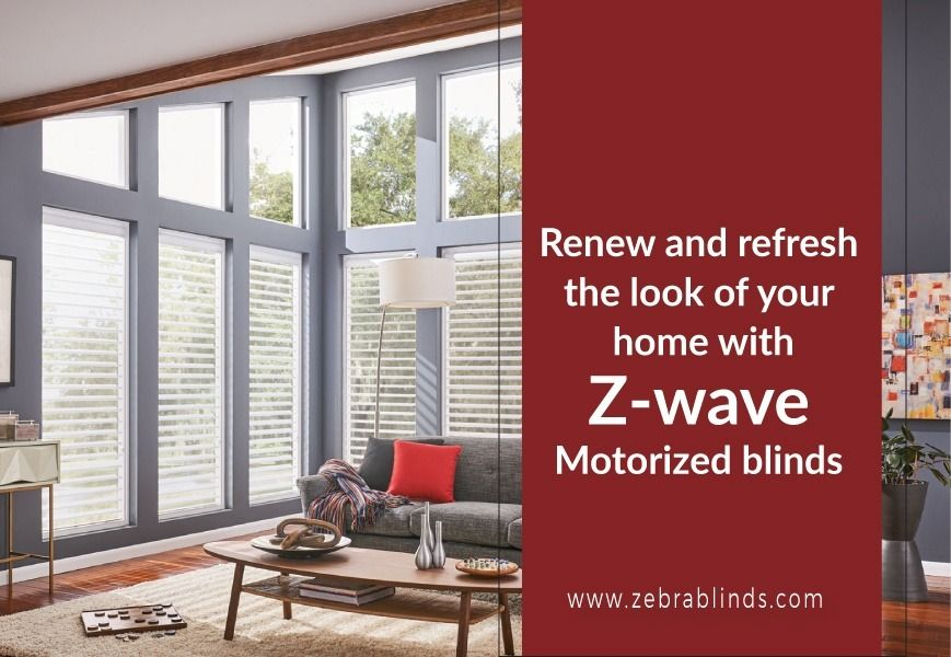 Renew And Refresh Look of Your Home - Exterior Sun Motorized Shades