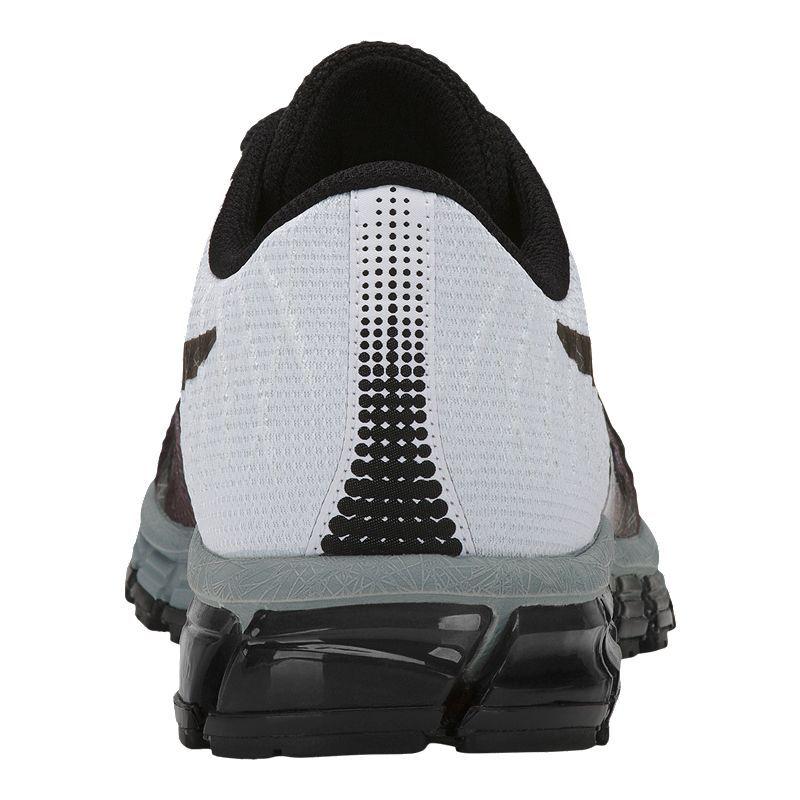 050e04362540 ASICS Men s Gel Quantum 180 4 Running Shoes - Black Grey in 2019 ...