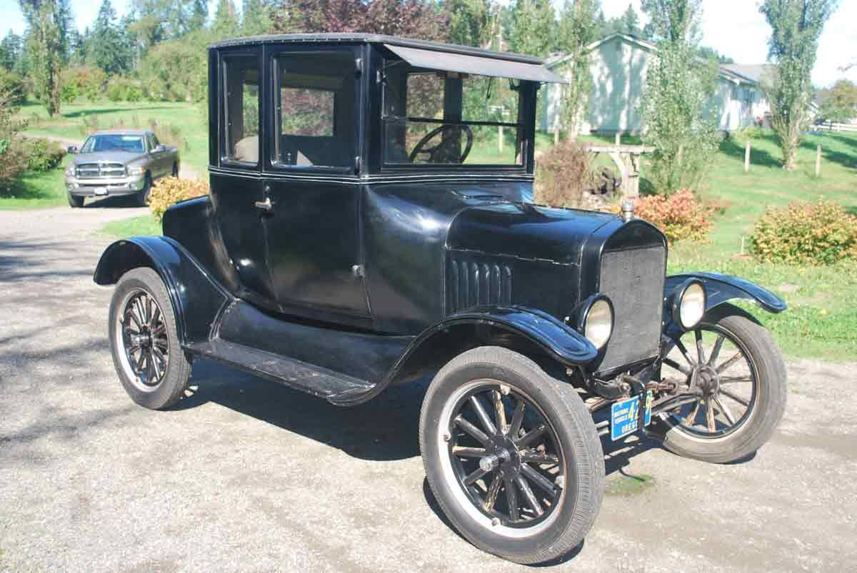 1924 Ford Model T Coupe For Sale 1727900 Ford Classic Cars