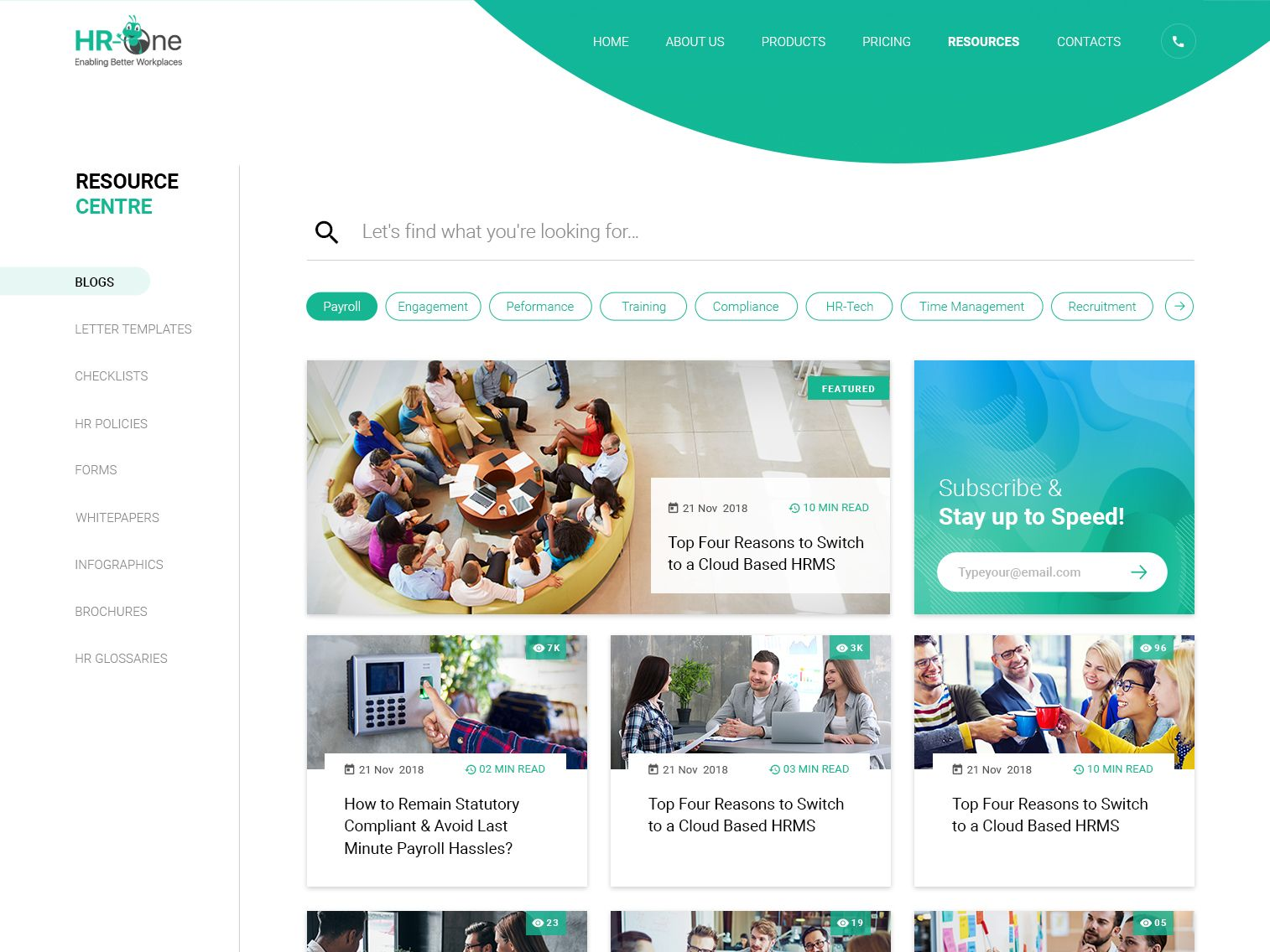 Resource Centre Blog Page In 2020 Resources Web Design Blog