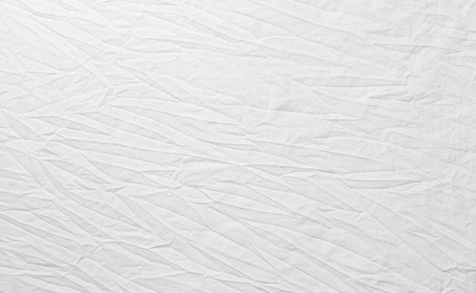 White Wrinkled Fabric Texture For Backgroundwhite Cloth