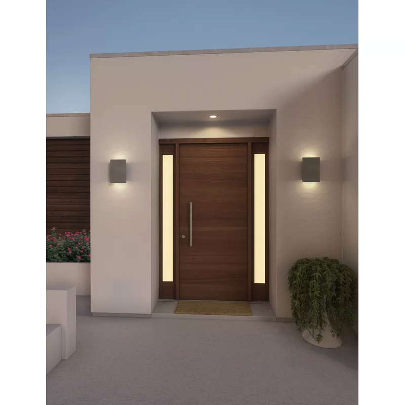 Tersus LED Outdoor Flush Mount (With Images)
