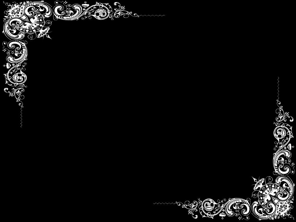 Free Black Page Border In 2019 Black Background Wallpaper