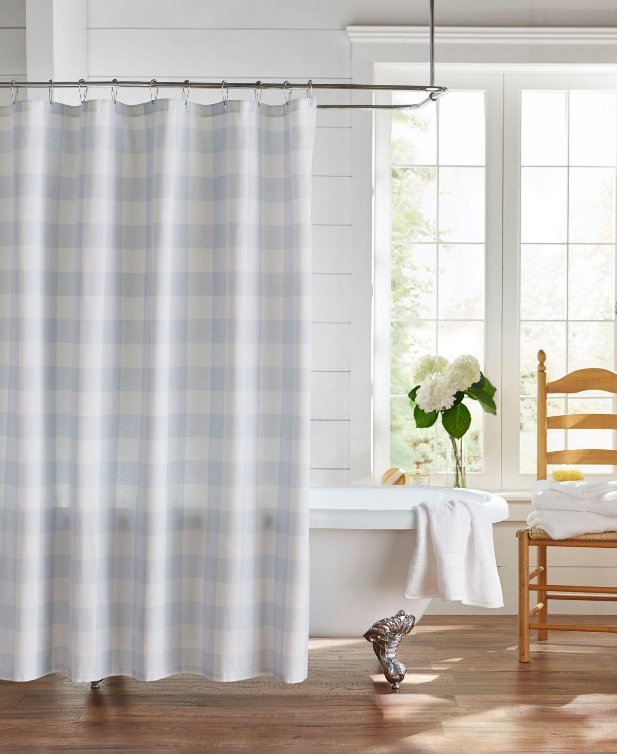 Elrene Farmhouse Living Buffalo Check 72 X72 Shower Curtain