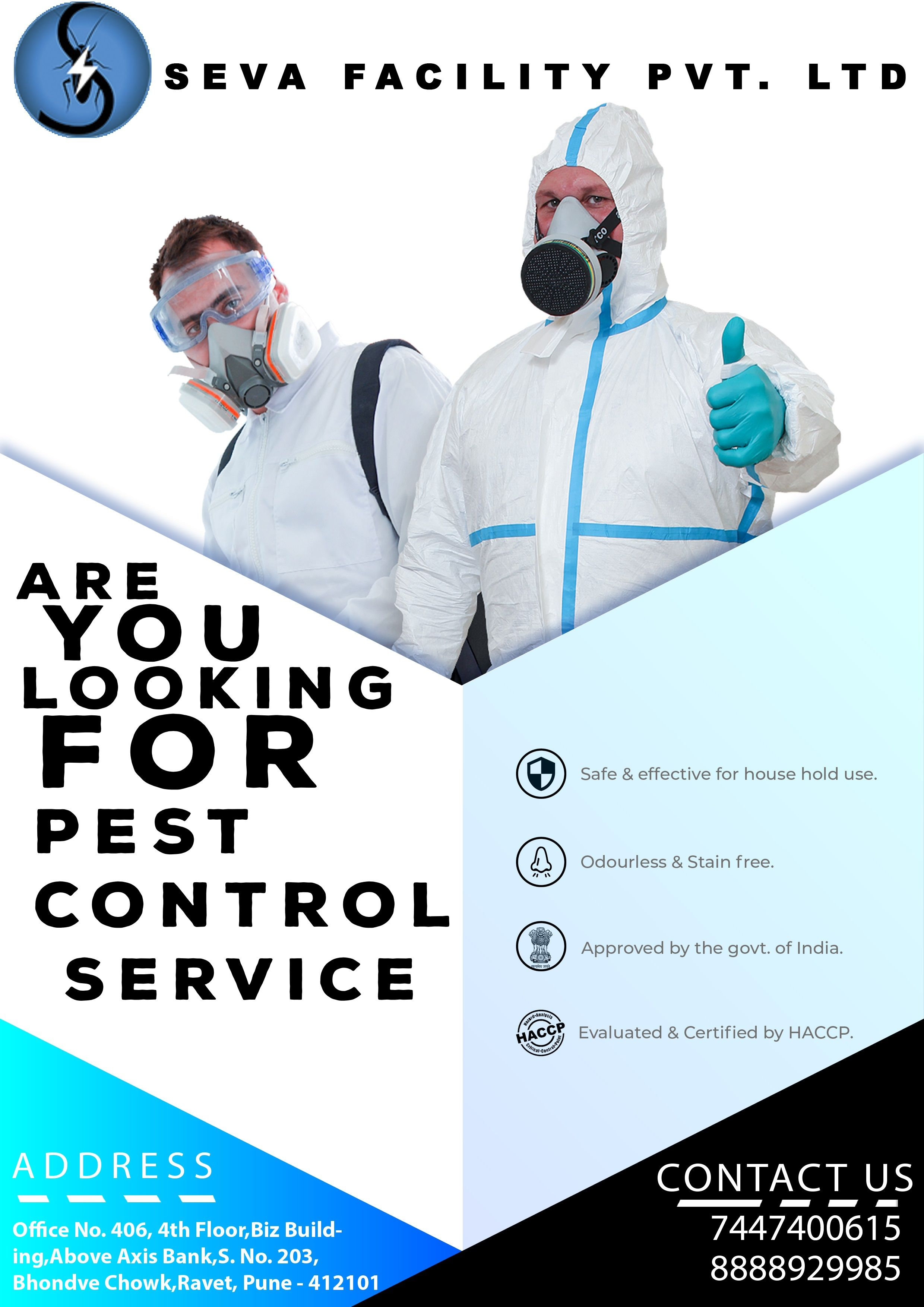 Are you looking for pest control service we seva