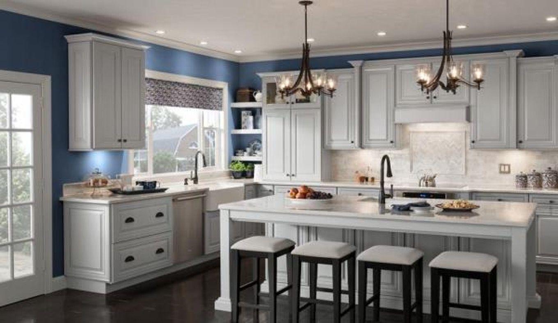 Elegant Woodmark Kitchen Cabinets