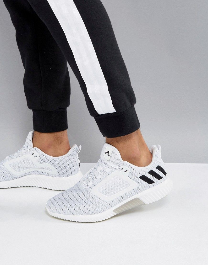 newest bb07d 7ee89 ADIDAS ORIGINALS ADIDAS RUNNING CLIMACOOL SNEAKERS IN WHITE S80710 - WHITE.   adidasoriginals