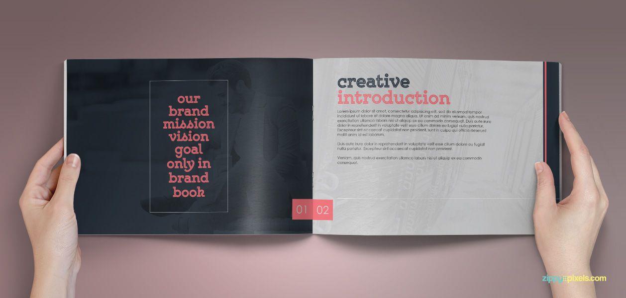 Logo Variations  Brandbook  Classic Branding Guidelines Template