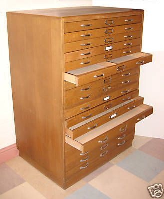 Rubber Stamp Storage  love the shallow drawers great for