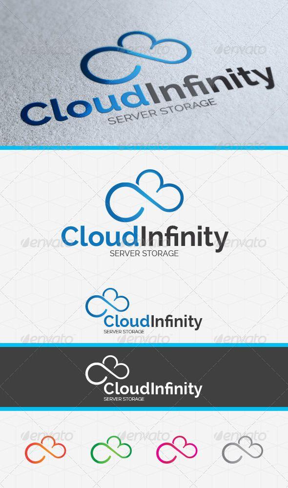 Cloud Infinity Logo Template Graphicriver Description A Cloud Mix