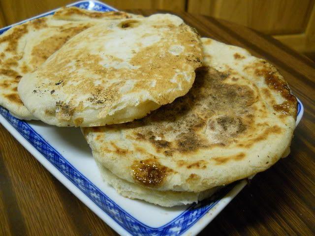 {This one links to an actual recipe} Hoddeok 호떡 - Sweet ... Hoddeok Sweet Korean Pancakes