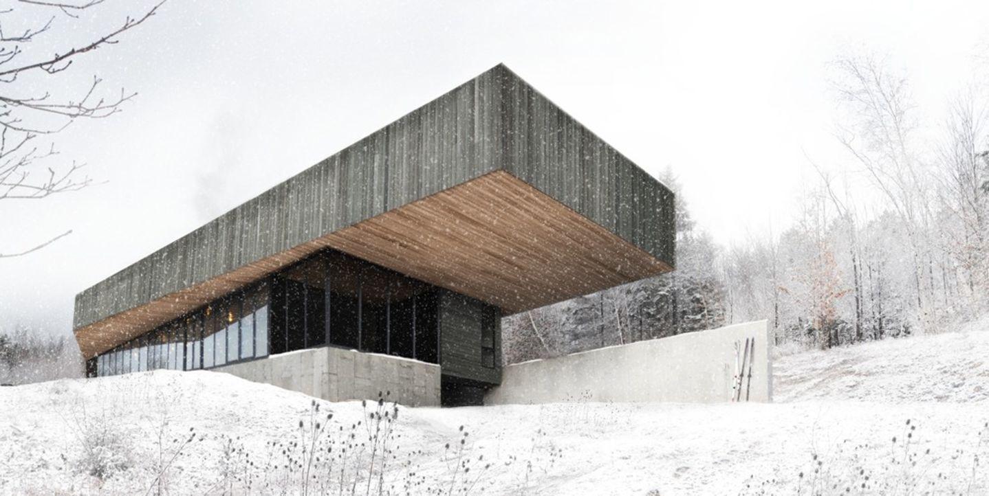 Chevalier Morales Architectes · Résidence Roy-Lawrence. Sutton, Québec ·…
