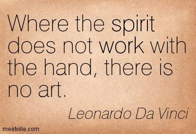 Leonardo Da Vinci Quotes About Art Google Search Quotations