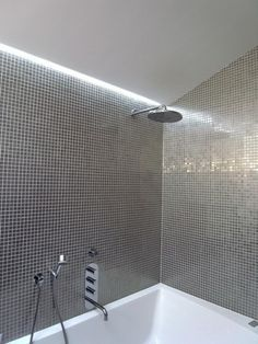 Led Stip Of Light In Shower Ny Interior Designer Jared Sherman
