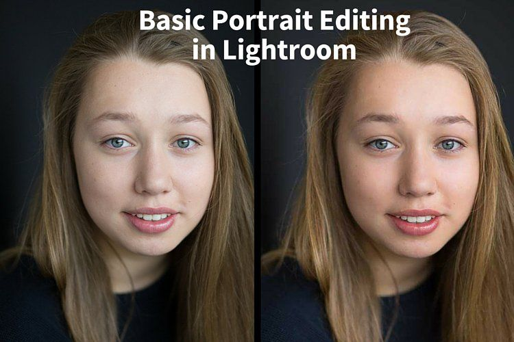 Lightroom portrait editing