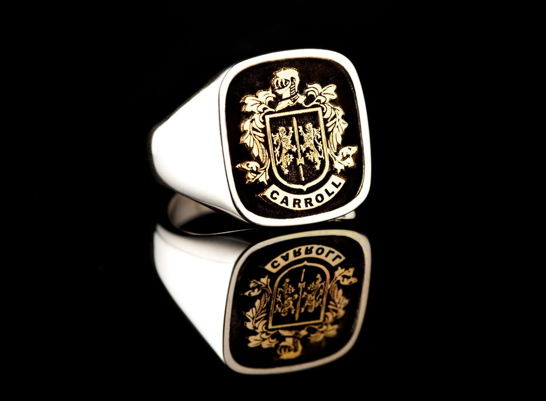 Mens Navy Rings