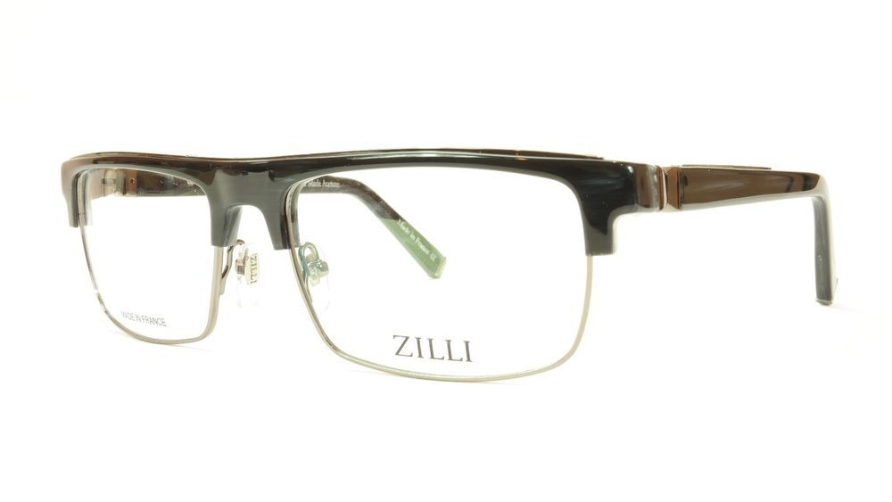 77aaf9ba02f ZILLI Eyeglasses Frame Acetate Titanium France Hand Made ZI 60005 C03 064   ZILLI