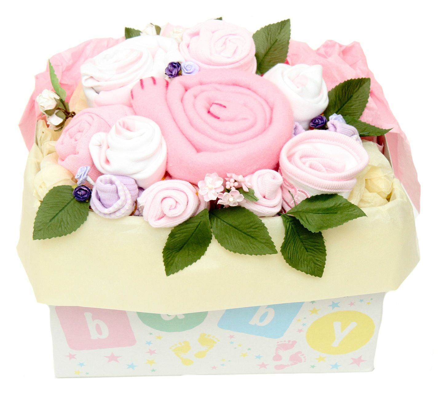 Instead of buying a set of clothes or a bunch of flowers for a new instead of buying a set of clothes or a bunch of flowers for a new mum to a beautiful baby girl why not combine the two and consider our pink baby bouquet izmirmasajfo