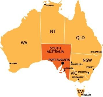 flinders outback location map the trip pinterest location map
