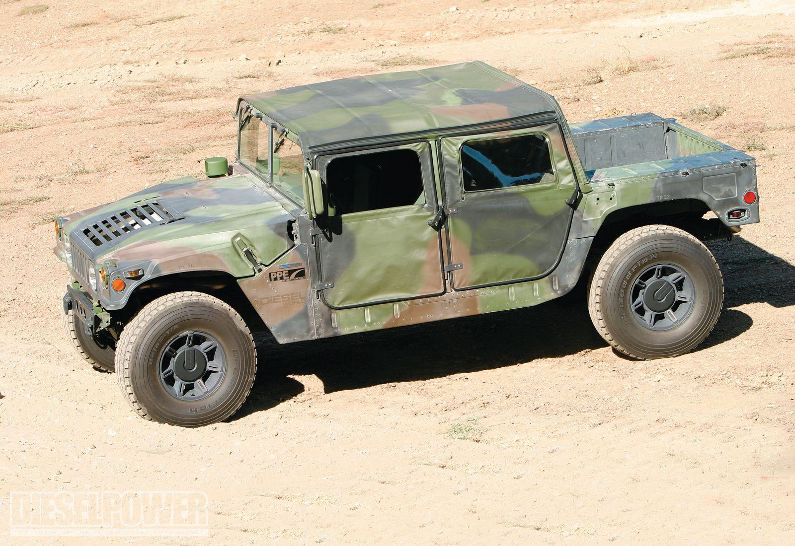 Hummer h1 duramax diesel engine diesel power magazine