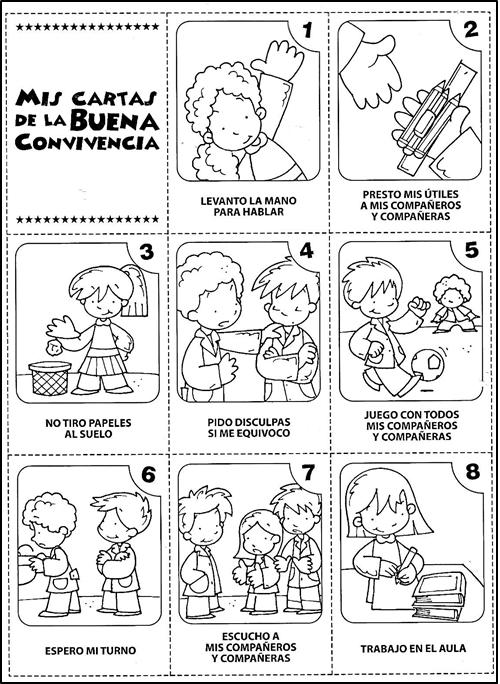 ética Y Valores Semana 7 Actividades De Convivencia Normas De Convivencia Convivencia En La Escuela