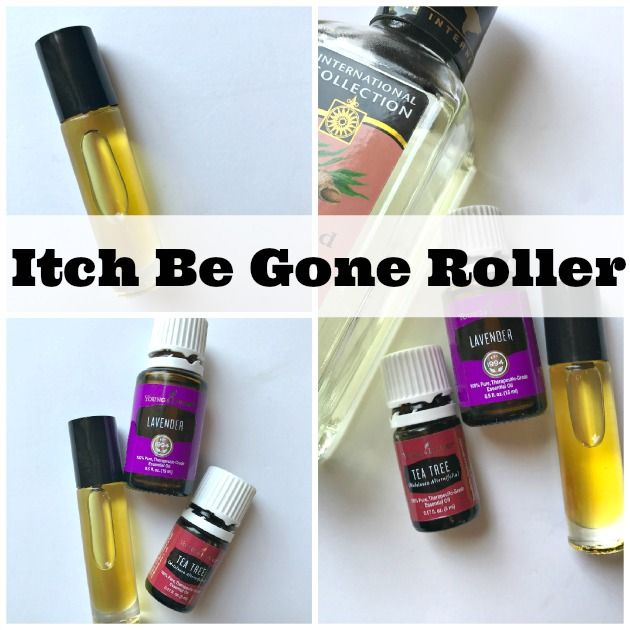 How To Make An Itch Be Gone Roller To Stop Mosquito Bites Itching ...