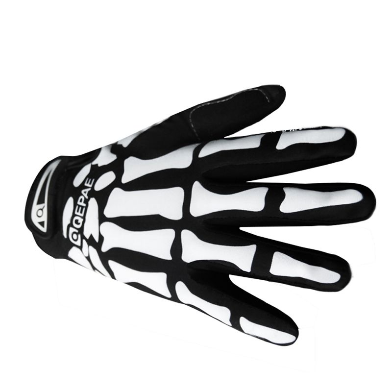New Arrival Cycling Gloves Skeleton Pattern Full Finger Gloves Warm Ski Bicycle Motorcycle Bike Sports guantes H1E1