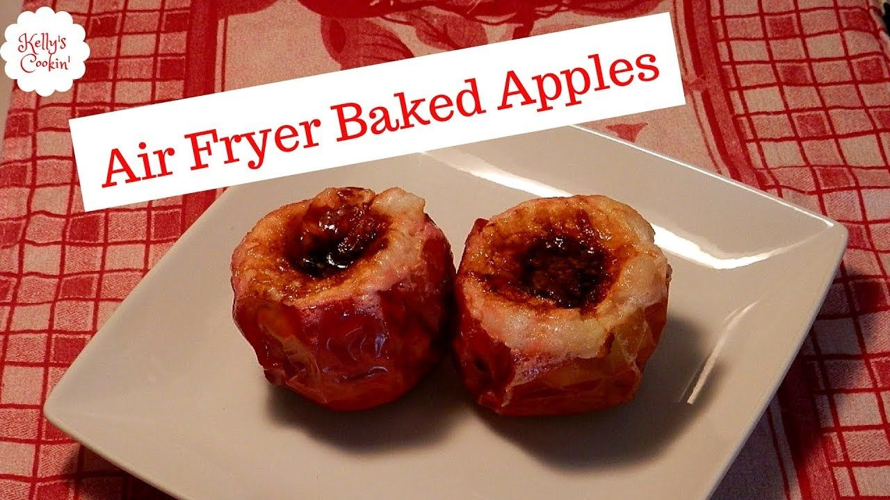 Air Fryer Baked Apples Baked apples, Baking, Baking recipes