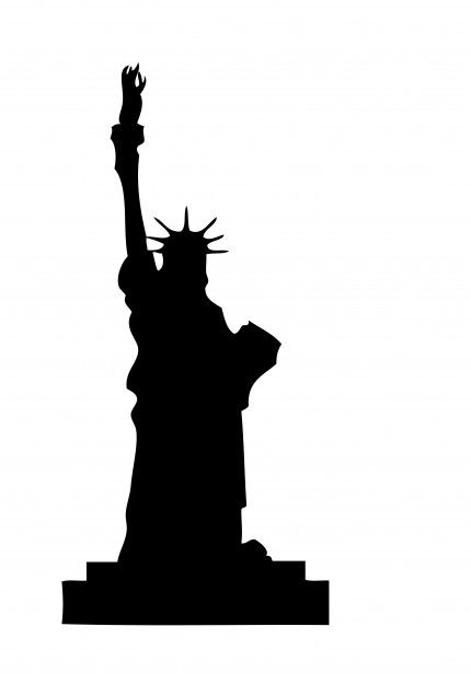 Statue Of Liberty Clipart Free Stock Photo Silhouette Pictures Free Clip Art New York Theme
