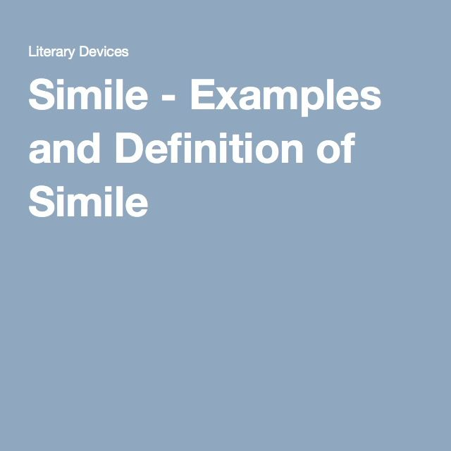 Simile Examples And Definition Of Simile Out Of The Dust Total
