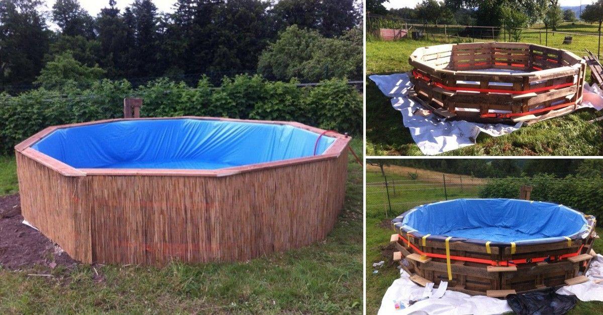 c mo hacer tu propia piscina de pallets gardens