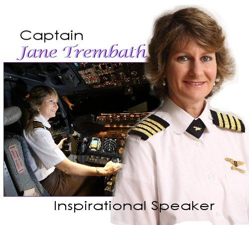 Jane is a captain on the Airbus 340 - the first woman pilot in South Africa to command long-range international flights. It is a long way from the two-seater aircraft she learnt to fly in 1982!   Jane joined her airline in 1988, aged 23, into a somewhat sceptical male environment. Although her experiences have come as a female pilot, what she learnt has relevance  and meaning for all of us in this transforming world.  http://www.trembath.co.za/index.htm