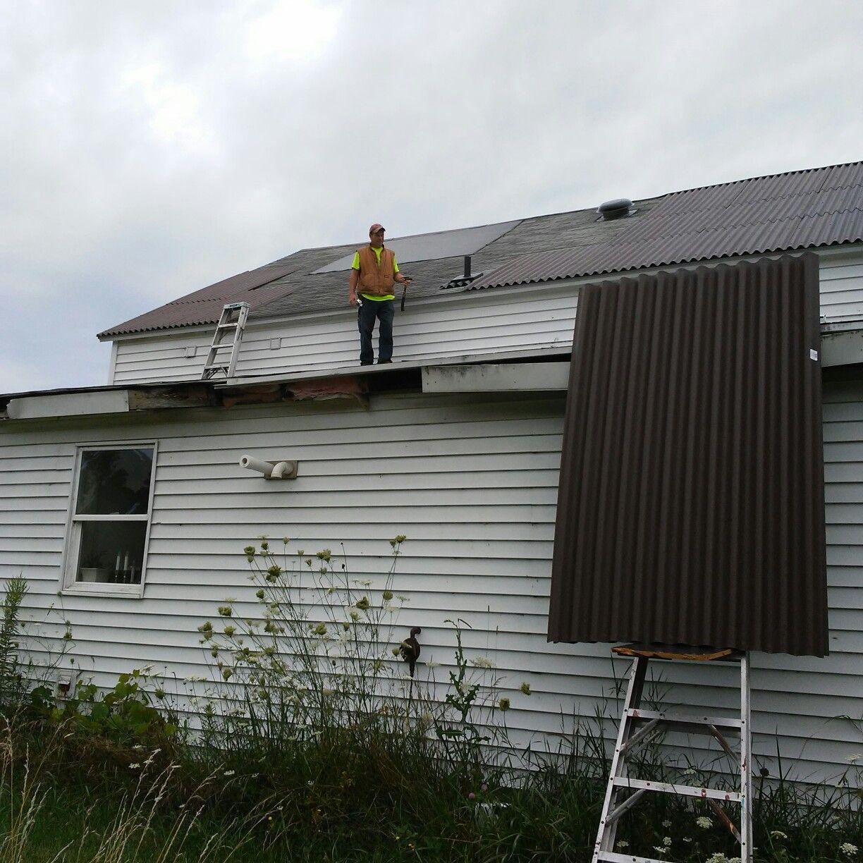 Best Ondura Corrugated Asphalt Roofing In Brown Supposed To 400 x 300