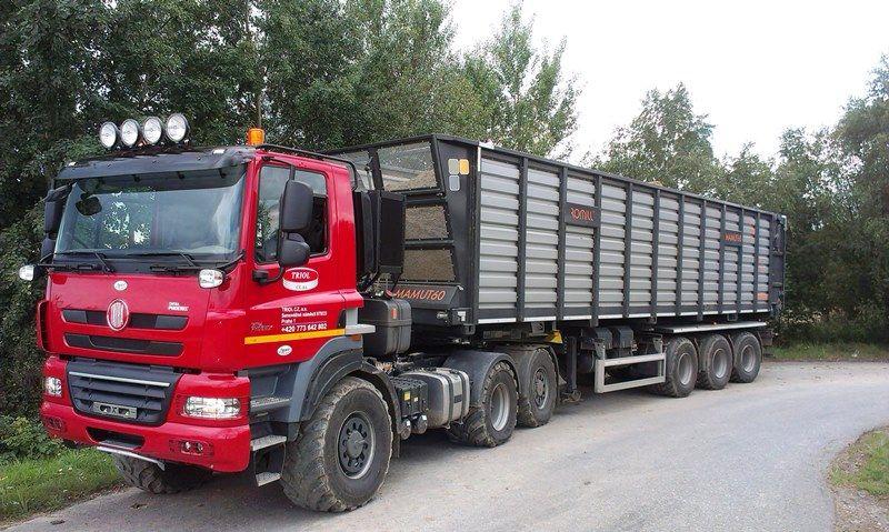 Tatra T158 6x6 Agro Mamut 65m3 Lkw Trucks Technische Spielereien